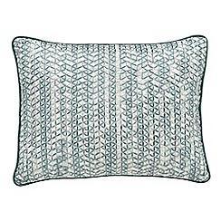 Fable - light blue 'Tabriz' cushion