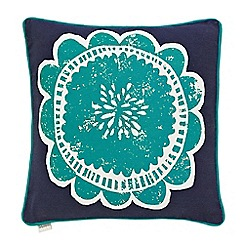 Scion - Blue 'Taimi' cushion