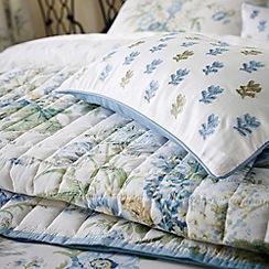 Sanderson - Blue 'Tournier' cushion & throw