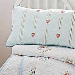 V & A - Multicoloured 'Valencia rose' cushion