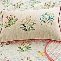 V & A - Multicoloured 'Voysey's garden' cushion