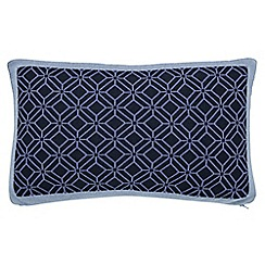 Sanderson - Blue 'Willow Tree' cushion
