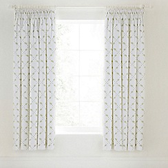 Helena Springfield - Pale green 'Betsy' curtains