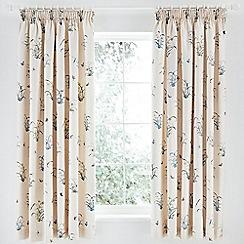 V & A - Multicoloured 'Butterfly Garden' curtains