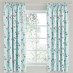 Helena Springfield - Aqua 'Buttercup' curtains