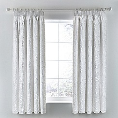 Helena Springfield - white 'Flora' curtains