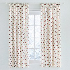 Julie Dodsworth - Red 'Heart & Soul' curtains