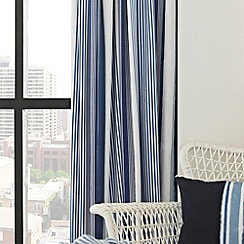 Helena Springfield - Blue 'Regatta' curtains