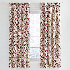 Julie Dodsworth - Pink 'Mary Rose' curtains