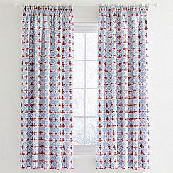 Julie Dodsworth - Blue 'Sunday Best' curtains
