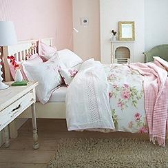 Sanderson - Pink 'Adele' bed linen