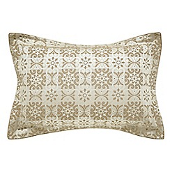 Bedeck 1951 - taupe 'Alie' oxford pillowcase