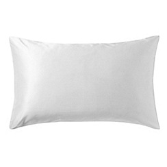 Bedeck - White 'Allure' pillowcase