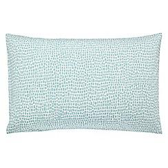 Scion - Blue patterned 'Anneke' pillow case pair