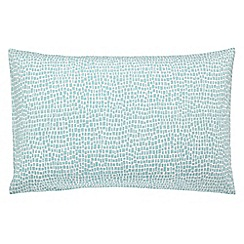 Scion - blue 'Anneke' standard pillowcase