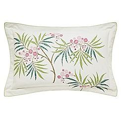 Sanderson - Rose floral 'Arberella' Oxford pillow case
