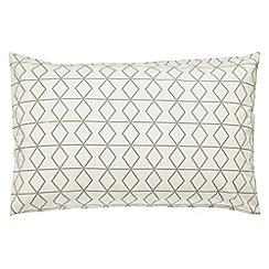 Scion - multicoloured 'Axis' standard pillowcase