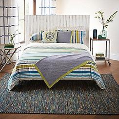 Harlequin - Multicoloured 200 thread count striped 'Bahia' duvet cover