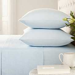 Helena Springfield - Blue 'brushed cotton' bed sheets