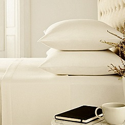 Helena Springfield - Ivory 'brushed cotton' bed sheets
