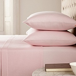 Helena Springfield - Pink 'brushed cotton' bed sheets