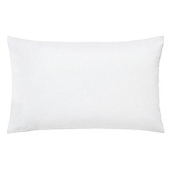 Hotel - White Egyptian cotton percale 300 thread count 'Bexley' Standard pillow case