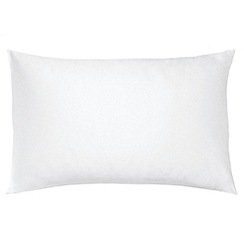 Hotel - White Egyptian cotton sateen 600 thread count 'Bexley' Standard pillow case