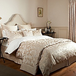 Sanderson - Natural 'Bird Blossom' bed linen