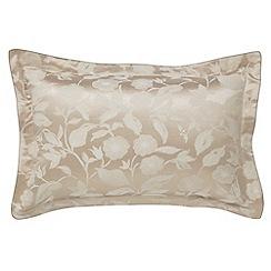 Sanderson - Natural 'Bird Blossom' oxford pillowcase