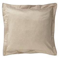 Sanderson - Natural 'Bird Blossom' square pillowcase