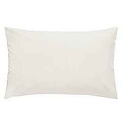 V & A - Multicoloured cotton 'Blythe Meadow' Standard pillow cases