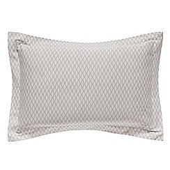 Hotel - Natural Egyptian cotton sateen 'Cadogan' Oxford pillow case