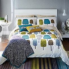 Scion - Multicoloured 'Cedar' bed linen