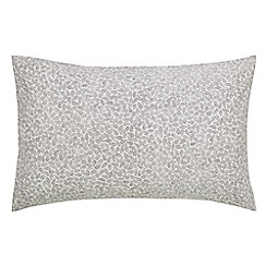 Scion - Light grey cotton 'Cedar' Standard pillow cases