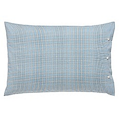 Peacock Blue Loft Collection - Blue 'Carter' standard pillowcase