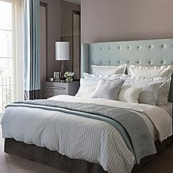 Fable - Light blue 'Ellis Stripe' bed linen