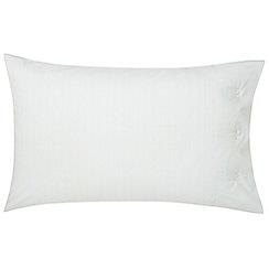 Fable - Light blue 'Ellis Stripe' standard pillowcase