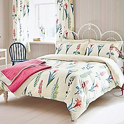 Sanderson - Multicoloured cotton 'Floral Bazaar' duvet cover