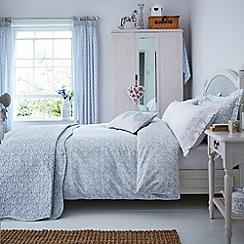 Julie Dodsworth - Blue 'Fledgling' bed linen