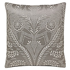 Harlequin - Taupe 'Florence' square pillowcase