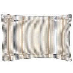 Bedeck - Natural 'Henley' oxford pillowcase