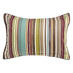 Bedeck 1951 - Multicoloured 'Ila' oxford pillowcase