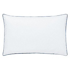 Echo - White 200 thread count 'Jakarta' pillow case
