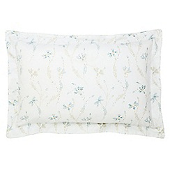 Fable - Light blue 'Kassia' oxford pillowcase