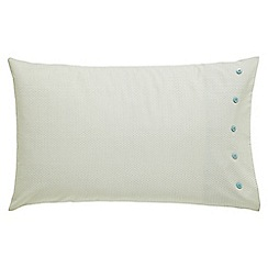 Bedeck 1951 - Light Turquoise 'Kasima' standard pillowcase