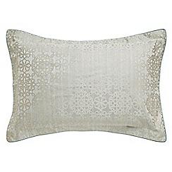 Bedeck 1951 - Light Turquoise 'Kasima' oxford pillowcase