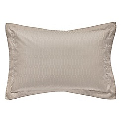 Hotel - Natural Egyptian cotton sateen 'Kilburn' Oxford pillow case