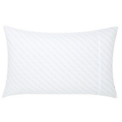 Fable - Blue 'Lantilly' standard pillowcase