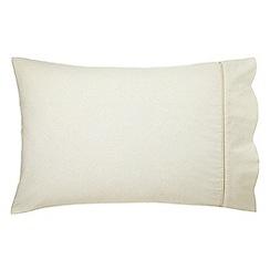 Morris & Co - Multicoloured 'Larkspur' standard pillowcase