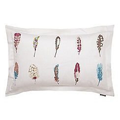 Harlequin - White 200 thread count cotton sateen 'Limosa' Oxford pillow cases